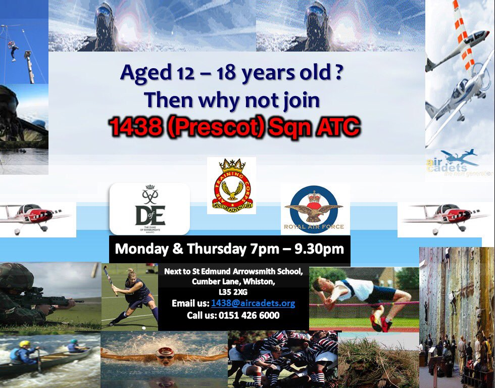 Prescot Air Training Corps