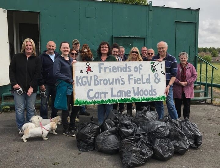 Friends of KGV Brown's Field and Carr Lane Woods @ Brown's Field