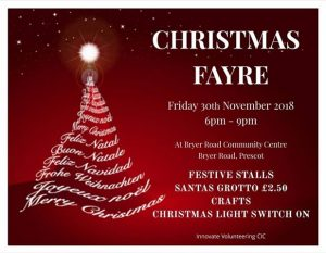 Innovate Volunteering presents Christmas Fayre