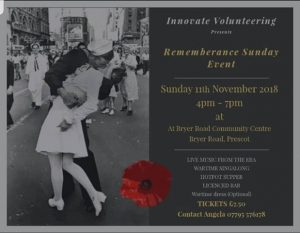 Innovate Volunteering presents Remembrance Sunday Event