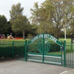 Eaton St Entrance Gate